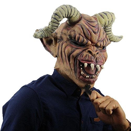 Price comparison product image Halloween Mask, Hatop Adult Costume Masquerade Face Party Cosplay Carnival Fancy Mask