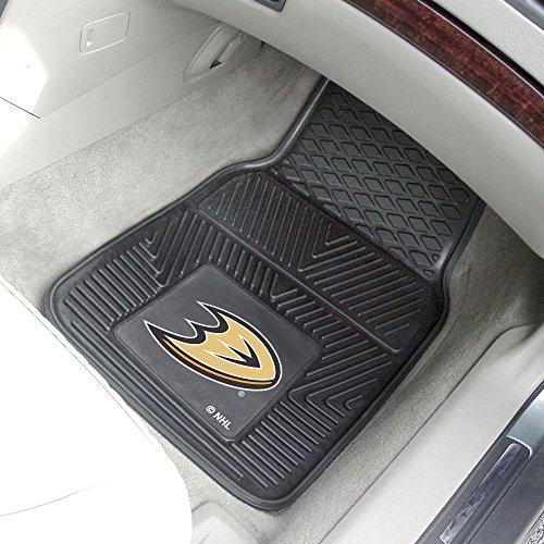 Anaheim Ducks Heavy Duty Vinyl Car Mats - Set of (Anaheim Vinyl Car Mats)