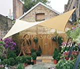 LOVE STORY 12' x 12' Square Sand Sun Shade Sail