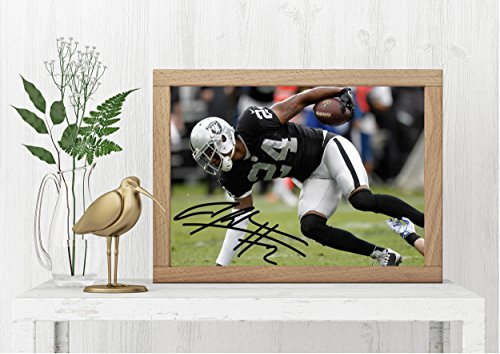(Reprints Charles Woodson Signed Photo - Football, Wolverines, Michigan- Autograph Professional Wall Art Merchandise Poster Artwork)
