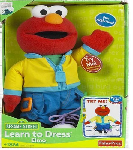 Fisher-Price Sesame Street Learn to Dress Elmo -