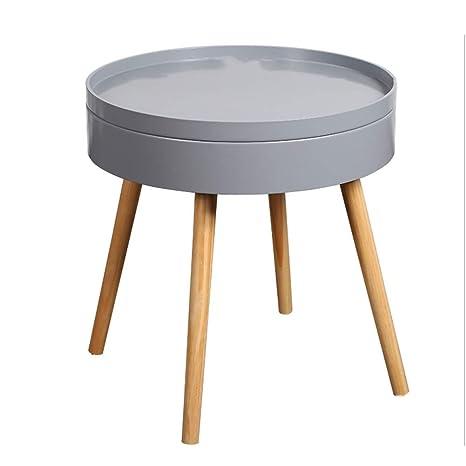 Amazon.com: ZHAOYONGLI - Mesa auxiliar de mesa, sofá nórdico ...