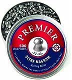 Crosman Domed Premier Pellets, 0.22-Calibre, 500 Count
