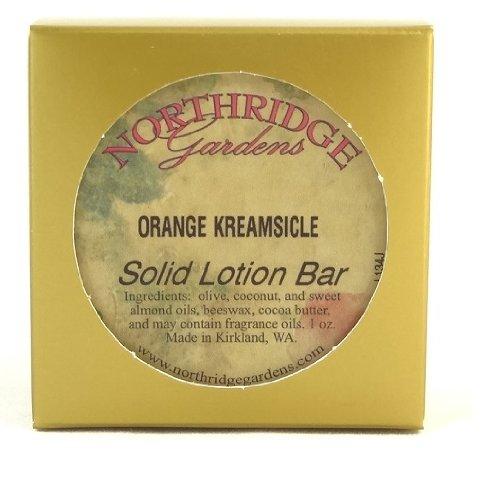 Northridge Gardens Orange Kreamsicle Solid Lotion Bar 1oz