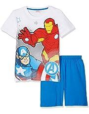 Avengers Assemble Chicos Pijama mangas cortas - Blanco