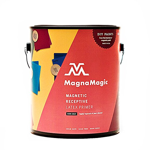 - MagnaMagic/Active Wall Magnetic Wall Paint - One Gallon #GGAW710
