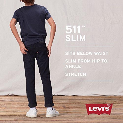 Levi's Boys 8-20 511 Skinny Fit Jean,Straw, 18 Regular