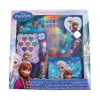 12-Piece Disney's Frozen Beauty Cosmetic Set for Kids - Frozen Beauty Play Kit for