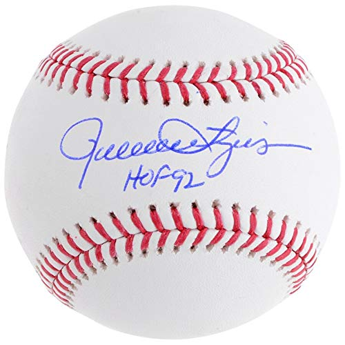 (Rollie Fingers Oakland Athletics FAN Autographed Signed Baseball With HOF 92 Inscription - Certified Signature)