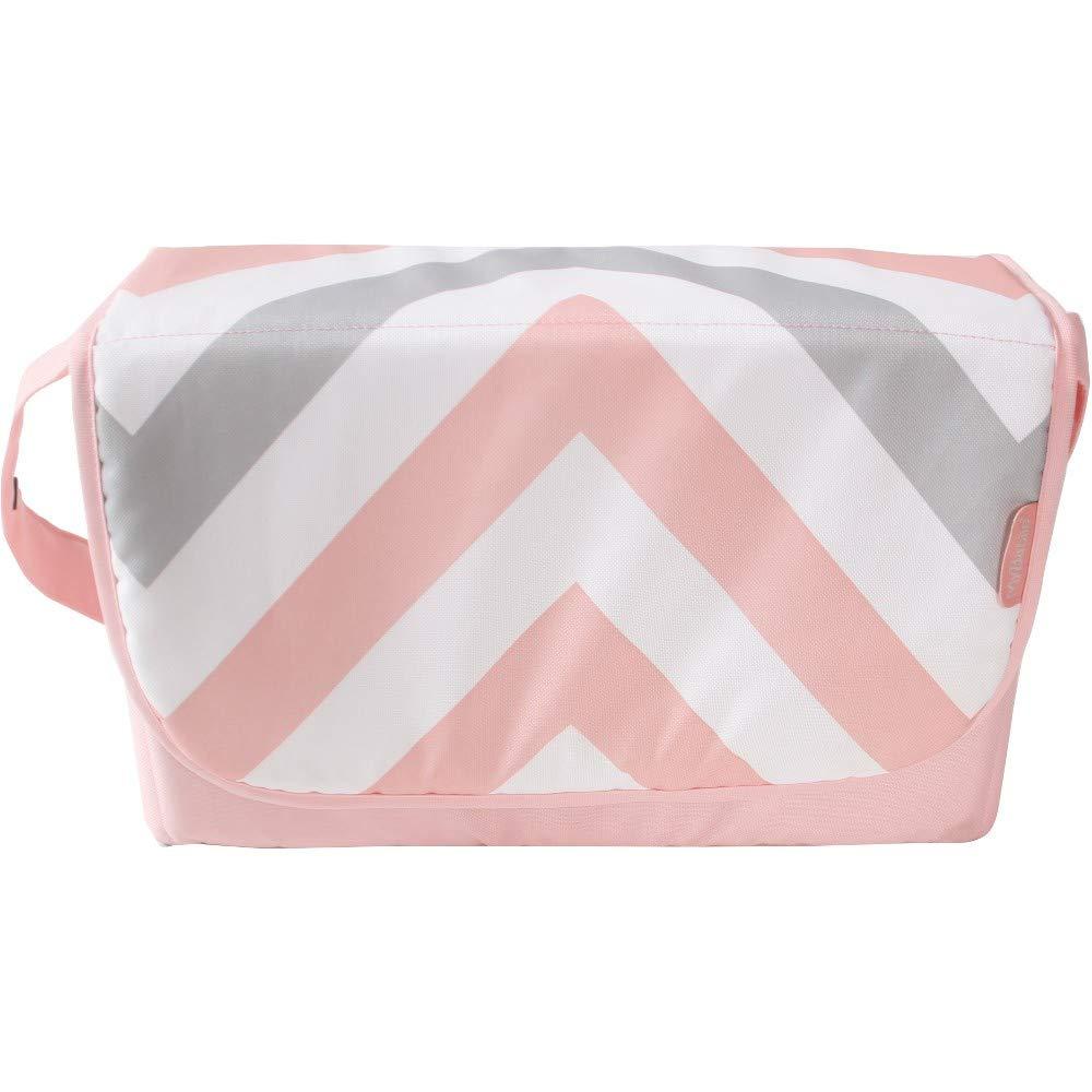 My Babiie Pink Chevron Changing Bag