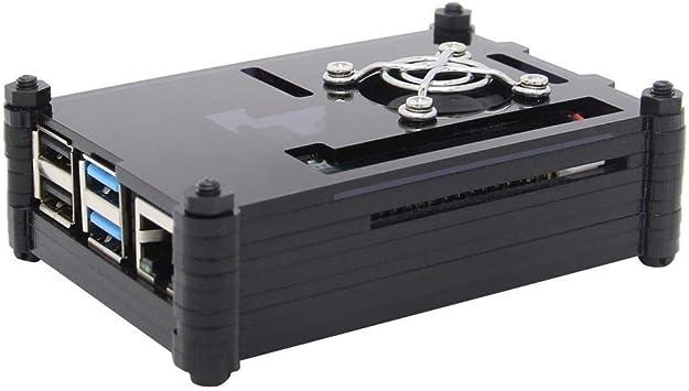 XZW AN Estuche de acrílico de 9 Capas + Adaptador Micro HDMI + Kit ...