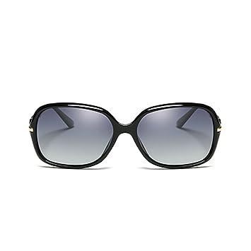 NUBAO Gafas de sol para exteriores para mujer, polarizadas, caja pequeña, espejo retrovisor