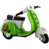 Supermall New Imported Toys Baby Metal Chetak Mini Scooter Sized Toy Scooter with Pull Back Mechanism for Kids- Multi Color