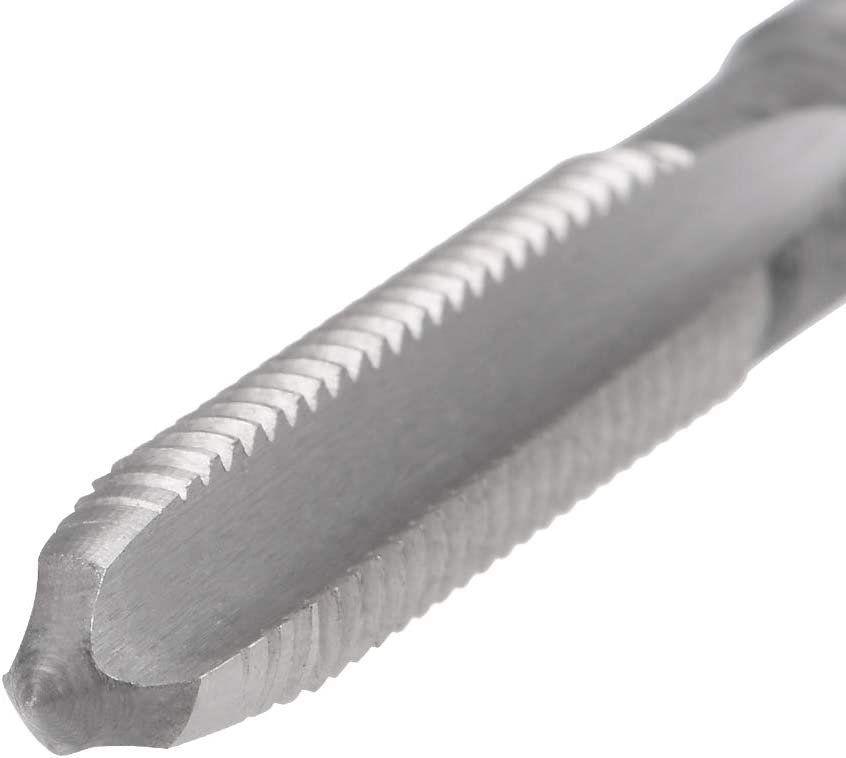 sourcing map Machine Tap 10-32 UNF Thread Pitch 2A Class 3 Flutes High Speed Steel 2pcs