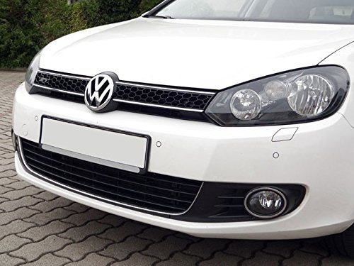 Chrome Mesh Honeycomb Euro Sport Front Grill For Vw Golf