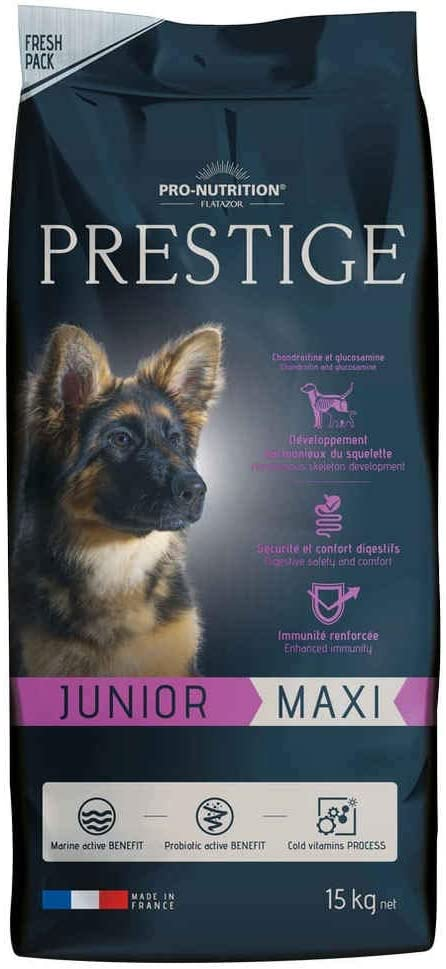Flatazor Pienso para Perros Prestige Prestige Junior Maxi (15 kg)