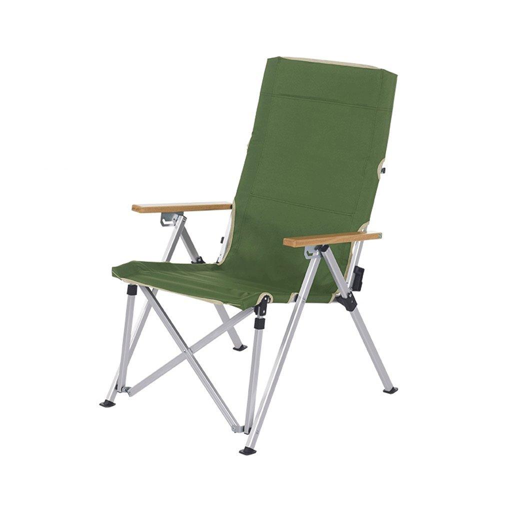 Outdoor Klappstuhl aus Aluminium Tragbarer Liegestuhl Angelstuhl Liegestuhl Lounge Sessel
