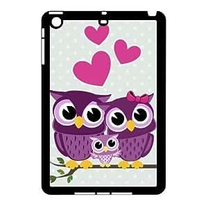 cute owl DIY Case for Ipad Mini,cute owl custom case