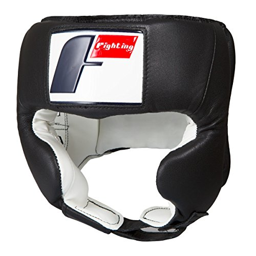 (Fighting Sports USA Boxing Competition Headgear (Cheek), Black, Small)