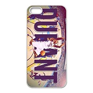 Generic Cell Phone Cases For Apple Iphone 5 5S Cell Phone Design With 2015 NBA Oklahoma City Thunder(OKC) #35 Kevin Durant Whiteside niy-hc836505
