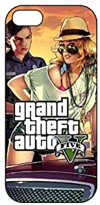 GTA, Grand Theft Auto 5, Arrest Babe, 4093 iPhone 5 Protective Hard Plastic Case Cover
