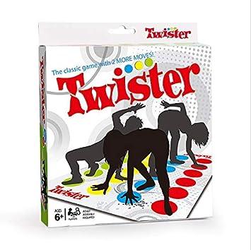 AIOIA Twister,Juego De Piso Familiar Juego Juguetes Tapete Juegos De Mesa Grande Divertidos Juegos De Habilidad para Niños Y Adultos, Juego De Piso Familiar Tapete De Juego Elegant: Amazon.es: Juguetes y juegos