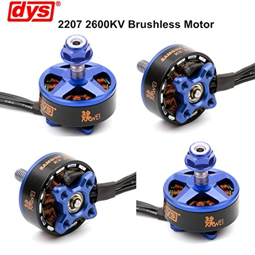 4pcs DYS Brushless Moteur 2207 2600KV 3-4S for RC Drone FPV Racing ( Samguk Series Wei )