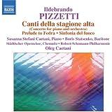 Pizzetti: Concerto for Piano and Orchestra
