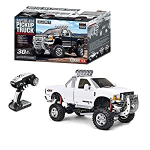 dataoeryingshiwenhuachuanmei HG-P410 1/10 RC Truck Model Set, 4WD 2.4G Remote Control 30km/h High Speed Vehicle Car