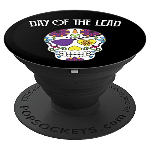 Sugar Skull, Day of Lead, Funny Radiology Tech X-Ray Skull - PopSockets Grip and Stand for Phones and - Funny X-ray