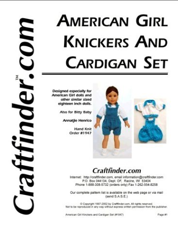 (Knicker and Cardigan Set)