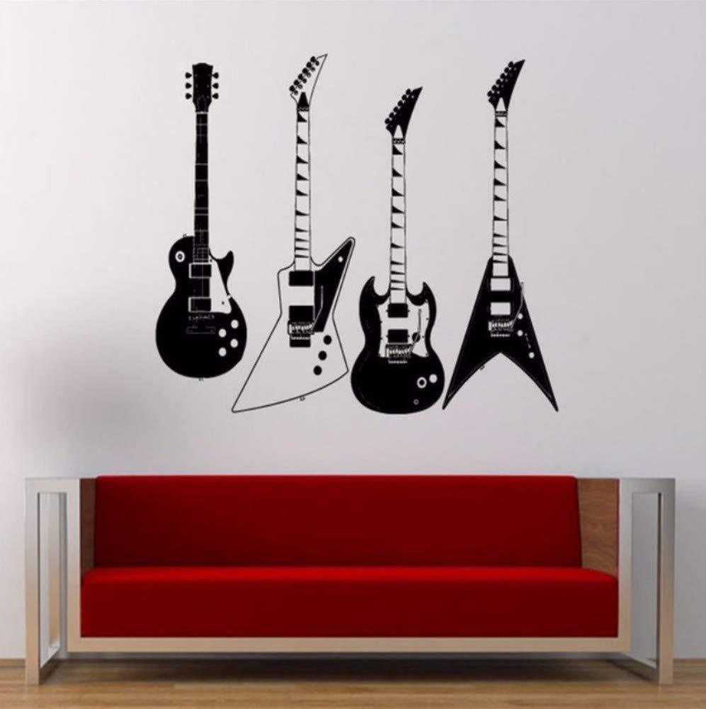 Vandelkt recogió cuatro tipos de guitarras eléctricas tatuajes de ...