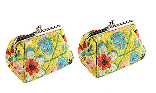 Embroidered Cosmetic Bags - 8
