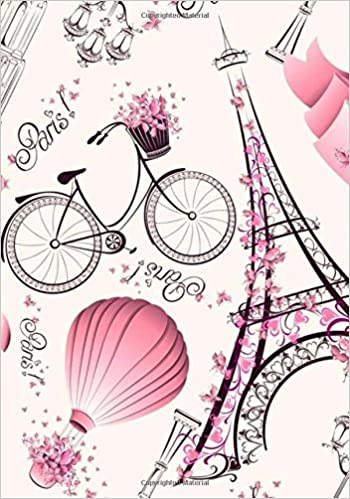 paris notebook vintage eiffel tower journal with ruled blank pages for writing doodling paris travel notebooks volume 1