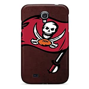 Anti-Scratch Hard Cell-phone Cases For Samsung Galaxy S4 With Allow Personal Design Realistic Tampa Bay Buccaneers Series JonathanMaedel