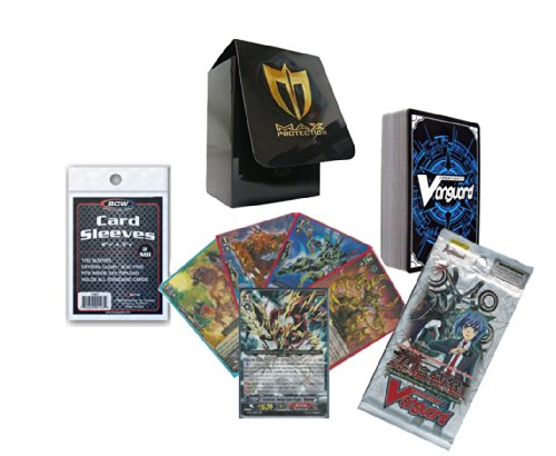 0 Cards NO DUPLICATES w/ RRR + 1 Sealed Pack + Deck Box & Sleeves ()