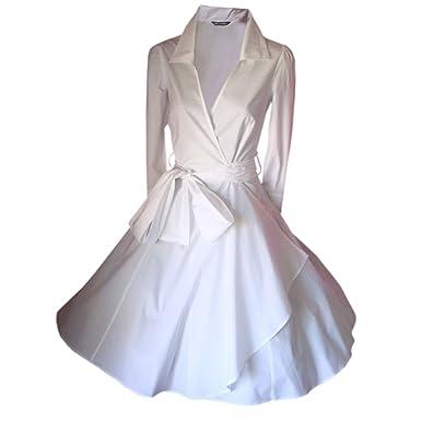 LOOK FOR THE STARS Retro Vintage Kleid Abend Party 50er Jahre Stil  Rockabilly / Sommerkleid/