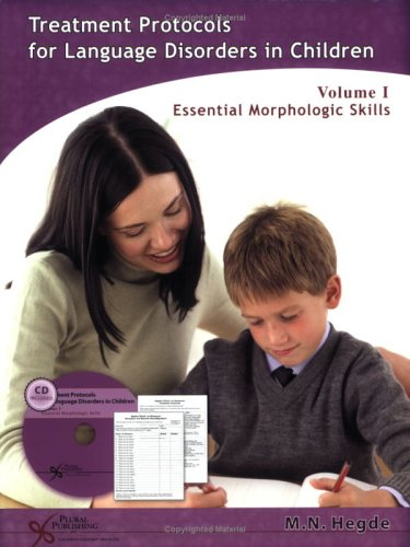 Download Treatment Protocols for Language Disorders in Children Two Volume Set (Protocols Series) pdf