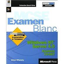 windows nt server 4. 0: mcse examen blanc (cd-rom)