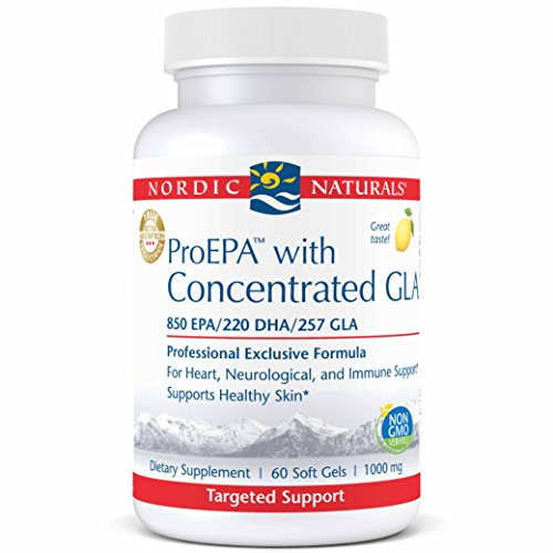 Nordic Naturals ProEPA with Concentrated GLA - Fish Oil, Borage Oil, 850 mg EPA, 220 mg DHA, 257 mg GLA, for Cardiovascular, Neurological, Joint, Skin, and Immune Health, 60 Soft Gels by Nordic Naturals (Image #5)