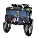 ZhangHongJ,Mobile Game Controller Joystick Ignition Button Trigger(color:BLACK)
