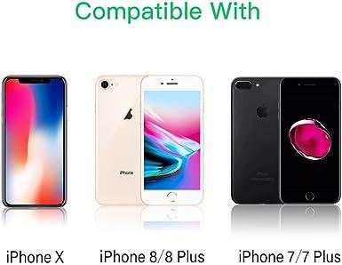 JSAUX iPhone Lightning auf 3.5mm Klinke Adapter MFi Zertifiziert iPhone Kopfh/örer Adapter Lightning Aux Audio Adapter f/ür iPhone 12//12 Pro//11//11 Pro//8//7//6//8 Plus//7 Plus//6 Plus Alle iOS Grau iPad