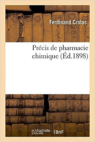Livre gratuits Précis de pharmacie chimique pdf, epub ebook