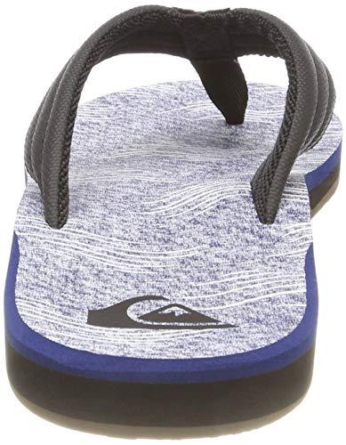 Black et Xkwb White Piscine Chaussures Print de Quiksilver Plage Homme Combo Blue Carver Blanc B64SqcwnzW