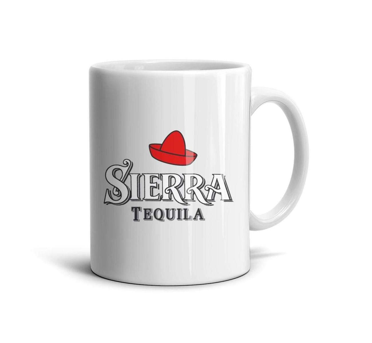 HIYITUTA Sierra-Tequila-Logo Mugs White Fun Mug 11 Oz Holidays Mugs Girlfriend Women