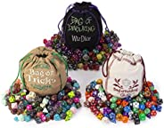 Wiz Dice Ultimate Dice Pack - Bag of Holding, Bag of Devouring, Bag of Tricks 3-Pack - Three Dice Bags with 42