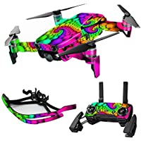 MightySkins Skin for DJI Mavic Air Drone - Hallucinate   Max Combo Protective, Durable, and Unique Vinyl Decal wrap cover   Easy To Apply, Remove, and Change Styles   Made in the USA