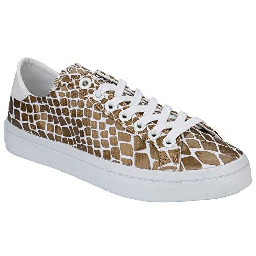 adidas vantage originaux femmes formateurs cour vantage adidas en peau de serpent bb2f57