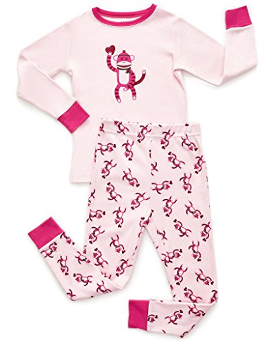 Pink 2 Piece Pajamas - 7