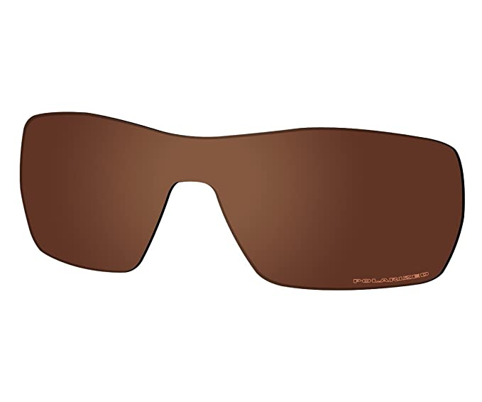 f2cb4969c4 Saucer Premium Replacement Lenses for Oakley Offshoot Sunglasses High  Defense - Amber Brown Polarized